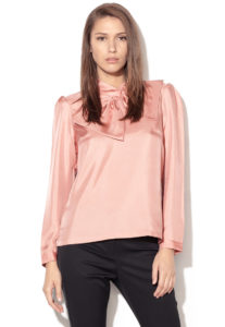 bluza matase roz