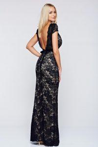 rochie dantela lunga
