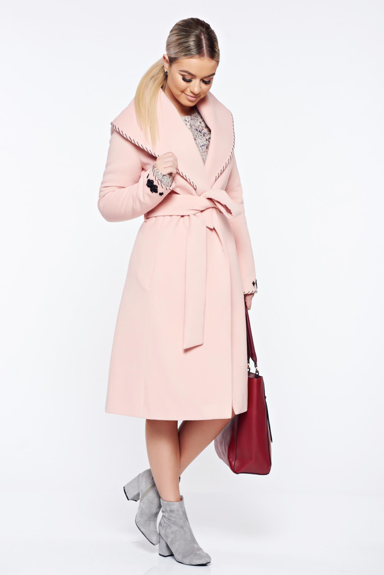 palton lana dama roz