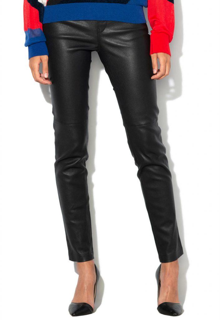 Pantaloni piele 100% naturala