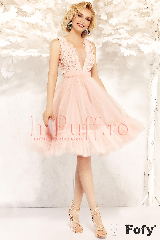 rochii de toamna elegante baby doll 3
