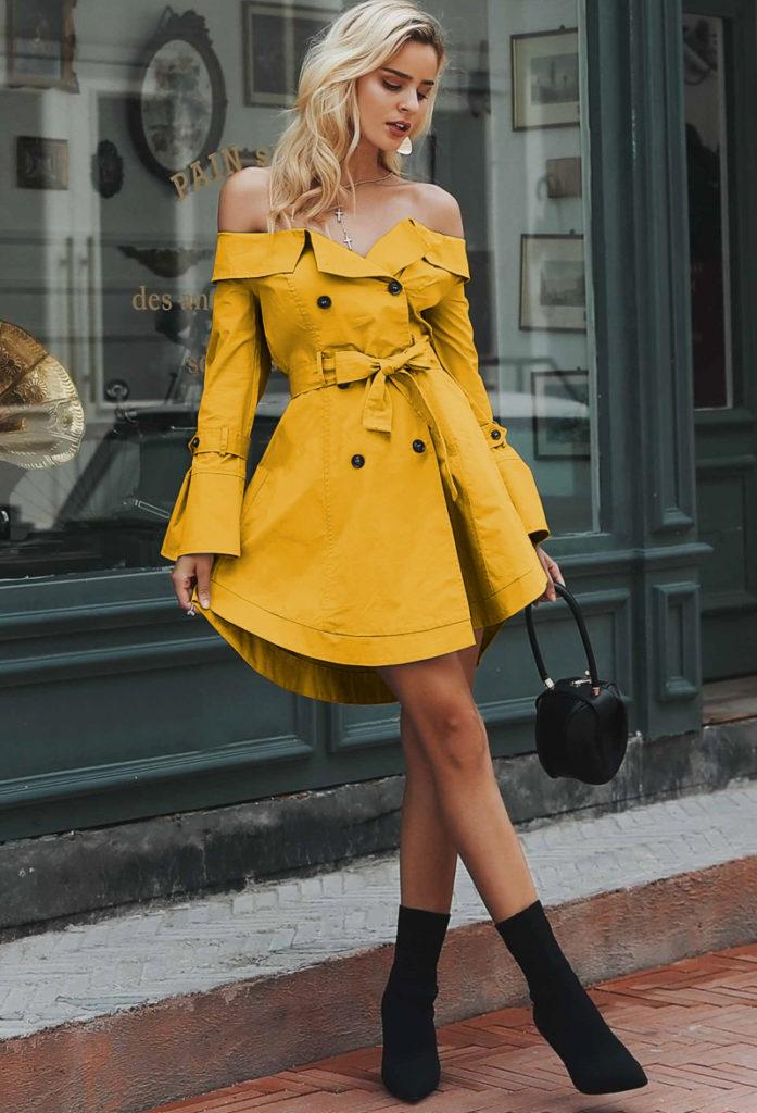 rochii de toamna elegante tip sacou 2