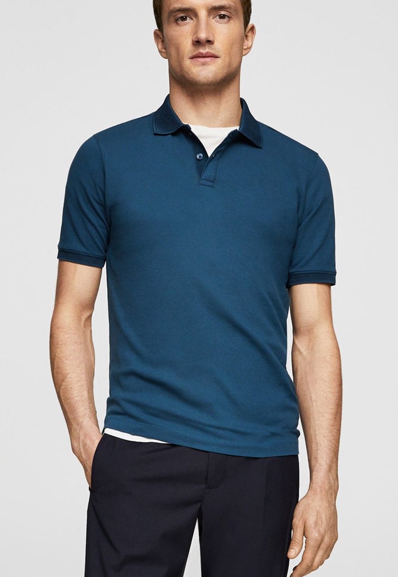 tricouri barbatesti polo stil casual inchis