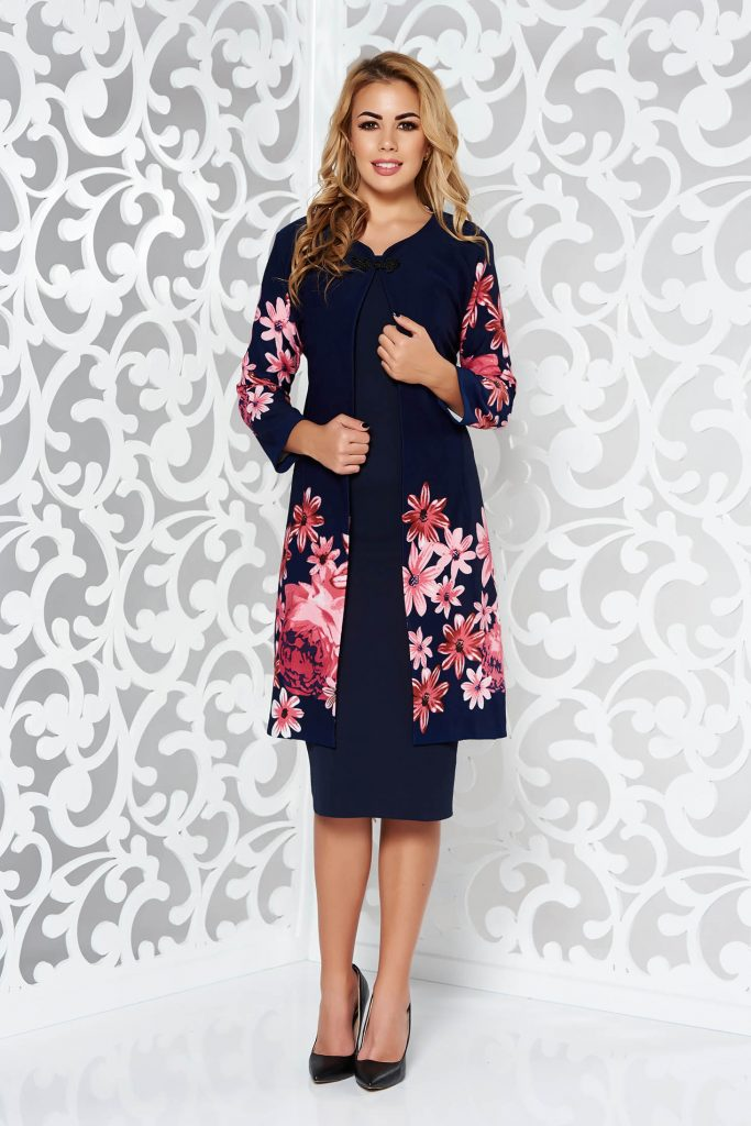 Compleuri dama elegante - imprimeu floral