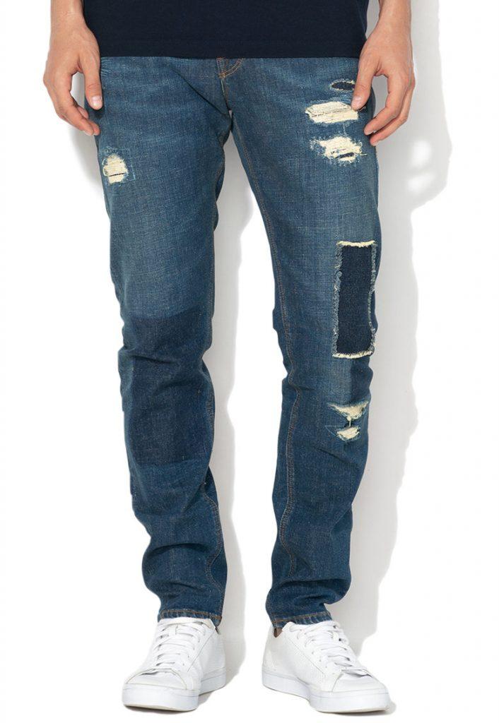 Jeansi barbati - deteriorati