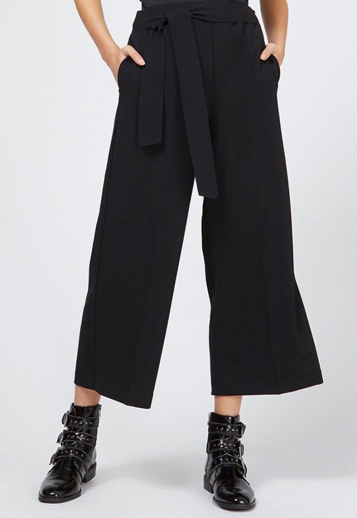 Pantaloni office dama cu croiala larga