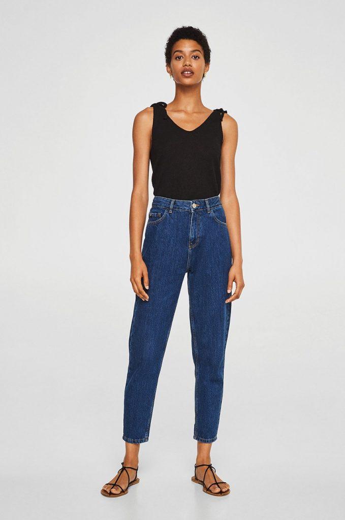 blugi de dama mom jeans