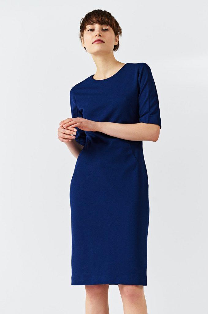 Rochii de birou - albastru inchis