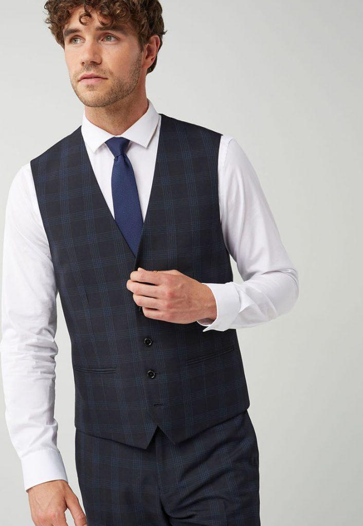 Vesta eleganta barbati in dungi