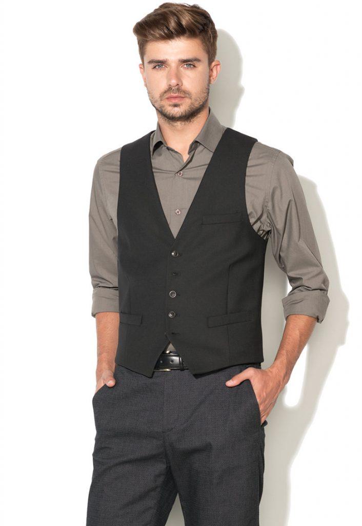 Veste eleganta barbati negre