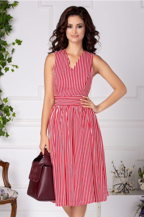 rochii rosii lungi in dungi
