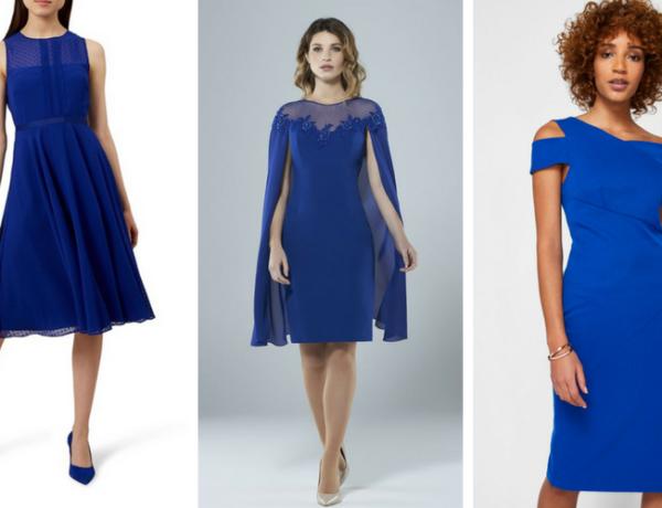 ce pantofi se potrivesc la rochie albastra