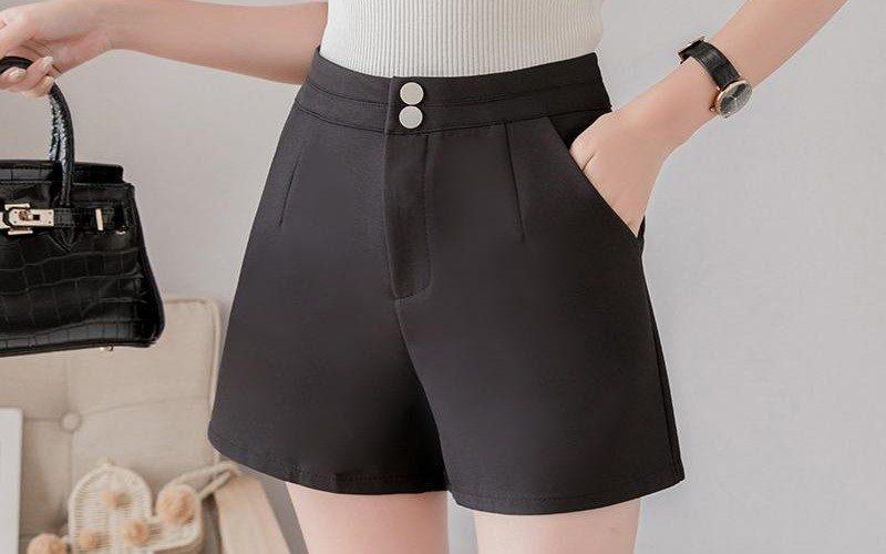 pantaloni scurti dama eleganti